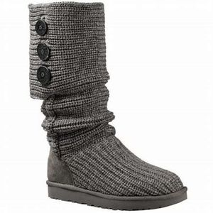 Uggs Classic Cardy Boot Gray Size 7